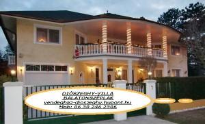 Diószeghy-Villa apartmanház Siófok/Balatonszéplak